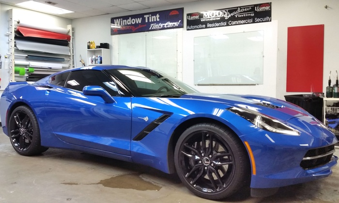MoonShadow Window Tinting - Lake Highlands store: Window Tinting for Two- or Four-Door Car at MoonShadow Window Tinting (Up to 63% Off). Two Options Available.