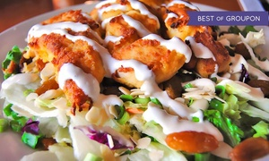 Backstreet Grill: $29 for a Prix-Fixe Meal for Two at Backstreet Grill (Up to a $53.97 Value)