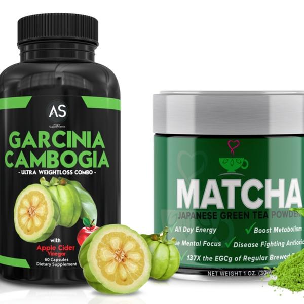 Angry Supplements Garcinia Cambogia And Matcha Green Tea Powder