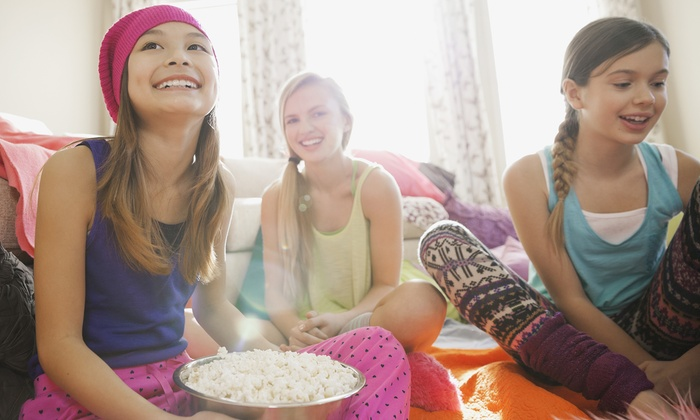 Posh & Play Kids Spa - Multiple Locations: $29 for Kids' Movie Event at Posh & Play Kids Spa ($50 Value)
