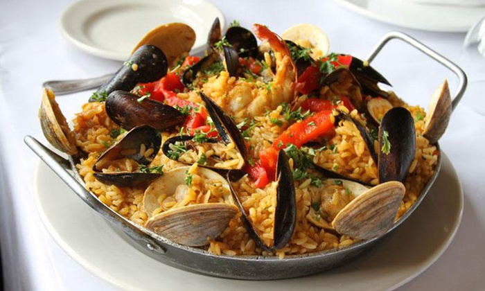 Cervantes of Spain - Garwood: Spanish Dinner for Two or Four at Cervantes of Spain (Up to 55% Off)