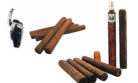 Cigar Samplers with Accessories from Allied Cigars