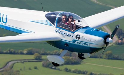 Flying Experience: 45-Minute (£65) or One-Hour Experience (£85) with MotorGlide (Up to 57% Off)
