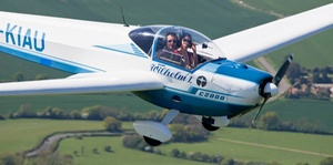 MotorGlide: Flying Experience: 45-Minute (£65) or One-Hour Experience (£85) with MotorGlide (Up to 57% Off)