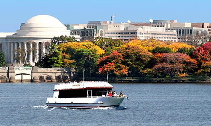 DC Cruises - DC Cruises: Fall Foliage Boat Cruise with Cider Tea for Two or Four from DC Cruises (Up to 51% Off)
