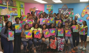 Prissy Paintbrush Studios: Up to 62% Off Canvas Painting Classes at Prissy Paintbrush Studios