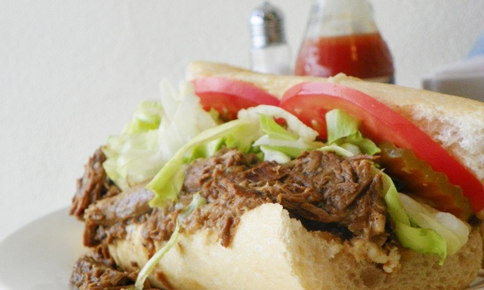 Avery's Po-boys - Tulane - Gravier: American Comfort Food and Drinks at Avery's Tulane(Up to 44% Off). Three Options Available.