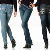 Antique Rivet Women's Stretch Jeans