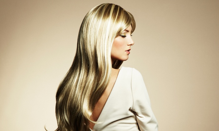 SalonChick - Ukrainian Village: Haircut with Optional Keratin Treatment or Full or Partial Highlights at SalonChick (Up to 65% Off)