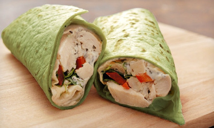 Cluck-U Chicken - Wall: Three or Five Sandwiches, Salads, or Wraps at Cluck-U Chicken (Up to 54% Off)