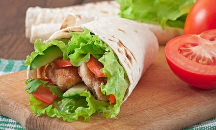 Wrap or Sandwich and Coke or Water for One ($7.99) or Two People ($15.98) at Quarry St Cafe (Up to $35 Value)