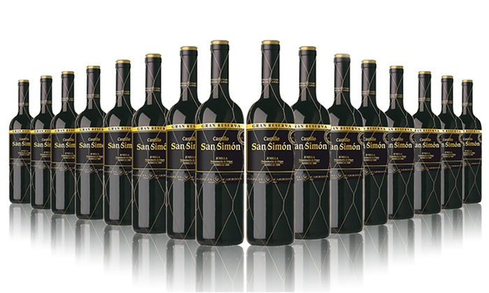 The Vineyard Club: 16 Bottles of San Simon Gran Reserva Red Wine for £59.99 With Free Delivery (64% Off)