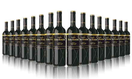 16 Bottles of San Simon Gran Reserva Red Wine for £59.99 With Free Delivery (64% Off)