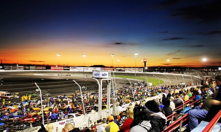 Saturday Night NASCAR Race with Meals and Go-Kart Races for Two or Four at Irwindale Event Center (Up to 64%Off)