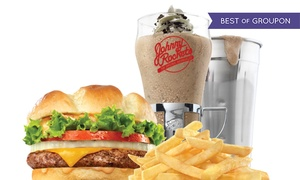 Johnny Rockets: $11 for $20 Worth of Hamburgers, Fries, and Shakes at Johnny Rockets in Inland Empire