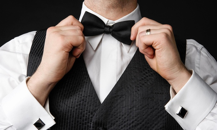 Tuxman - Tuxman: $44 for $80 Worth of Services — Tuxedo Rental Prom Special