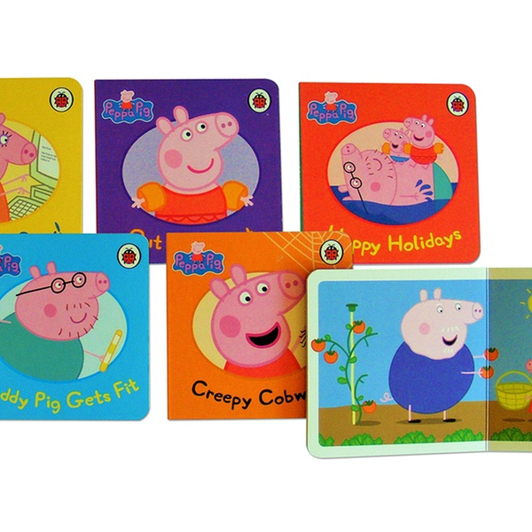Peppa Pig Set Of 8 Board Books With Individual Stories Based On The Adventures Of Peppa Pig And Friends For 8 98