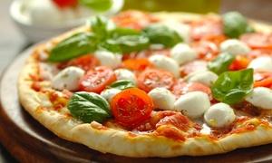Ristorante I Platani: Menu con antipasto a buffet, pizza a scelta, dolce e birra piccola (sconto fino a 69%)