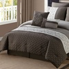 Quilted Microfiber Comforter Set (8-Piece)