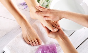 The Herb Garden: One, Three, or Four Ionic Foot Bath Detoxifications at The Herb Garden (56% Off)