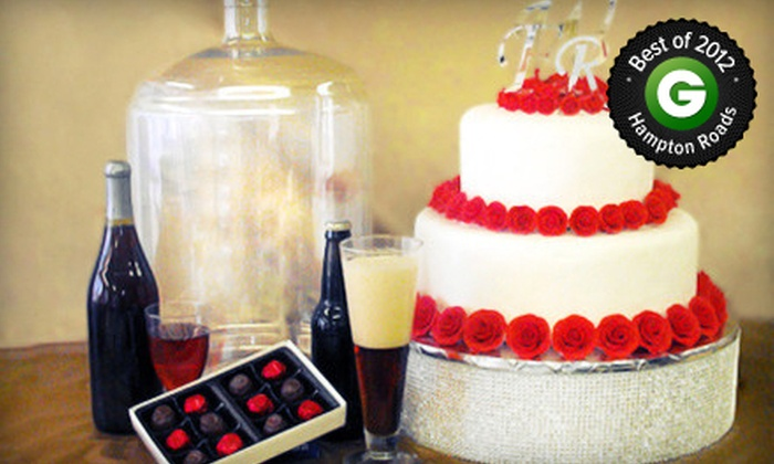 Wine & Cake Hobbies - Norfolk: $20 for $40 Worth of Supplies for Beer, Wine, Cake, Candy, Brides, Variety of Parties, and More at Wine & Cake Hobbies