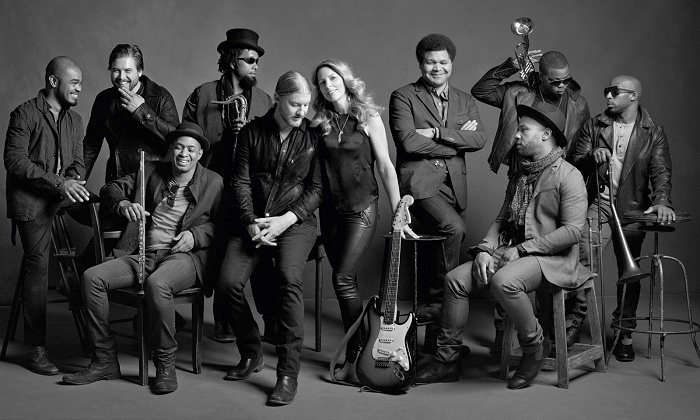 Tedeschi Trucks Band: Wheels of Soul Tour - Austin360 Amphitheater: Tedeschi Trucks Band with Sharon Jones & The Dap-Kings and Doyle Bramhall II on July 12 (Up to 61% Off)