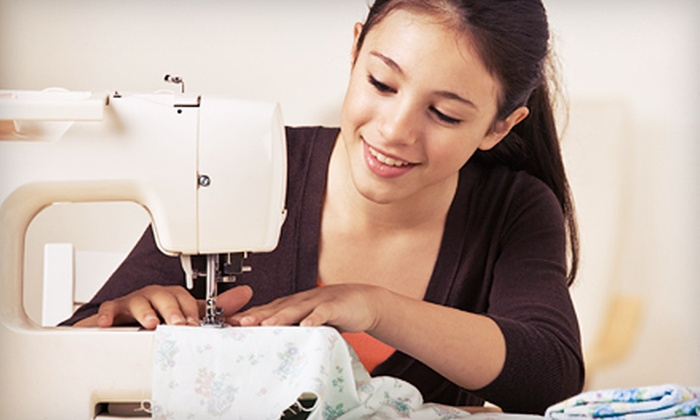 Sanford Sewing Machines - Pine Point: Beginner Sewing Class for One or Two with Project Class Credit at Sanford Sewing Machines (Up to 61% Off)