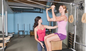 Living Bodies Studio: Three or Five 60-Minute Private Pilates Sessions at Living Bodies Studio (43% Off)