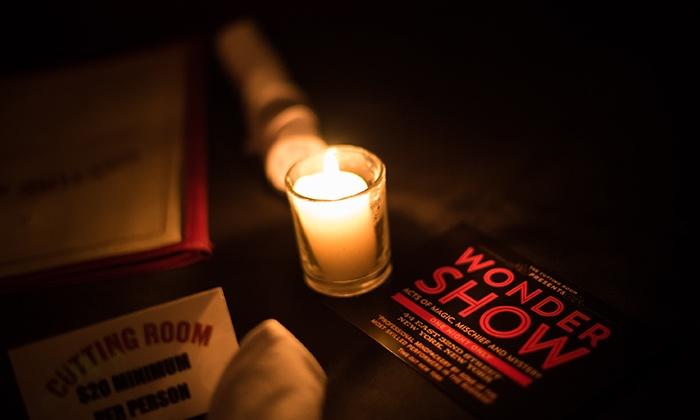 WONDERSHOW - The Cutting Room: WONDERSHOW on February 23 at 7 p.m.