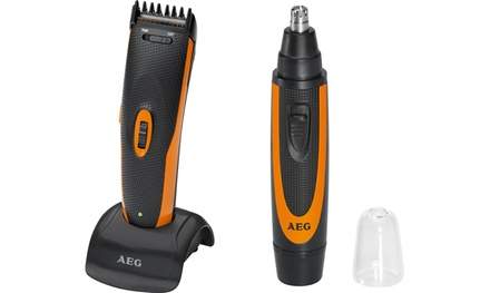 Tagliacapelli e barba AEG
