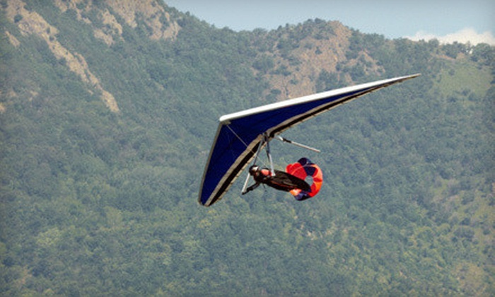 Mission Soaring Center - Tres Pinos: Introductory Hang-Gliding Lesson for One or Two at Mission Soaring Center (Up to 52% Off)