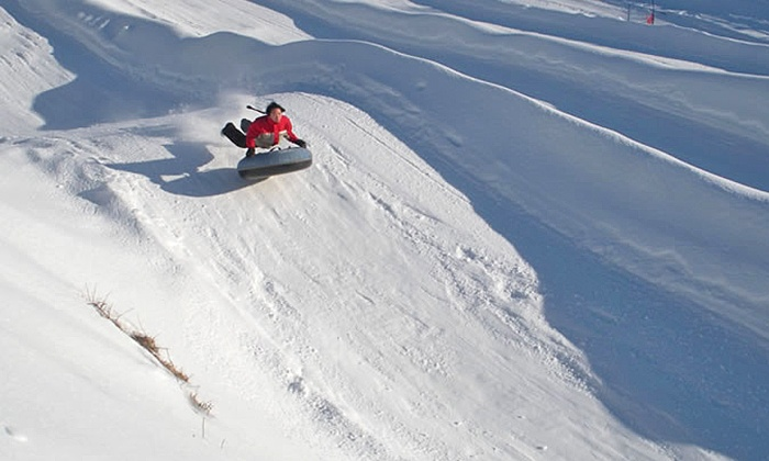 Woodbury Ski Area - Bunker Hill: $175 for One Family-Fun Tubing Package at Woodbury Ski Area ($312 Value)