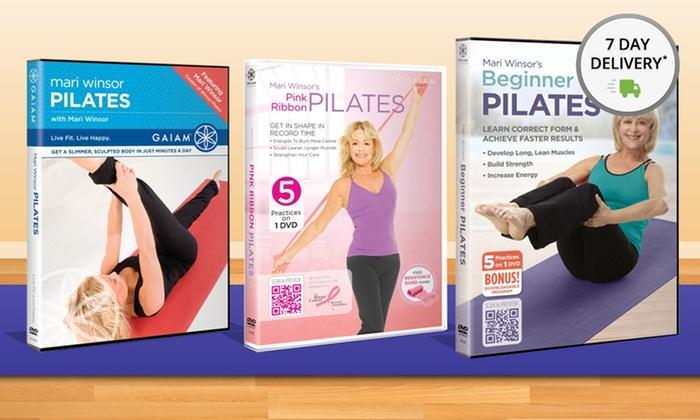 Mari Windsor's Pilates DVD 3-Pack: Mari Winsor's Pilates DVD 3-Pack. Free Shipping and Returns.