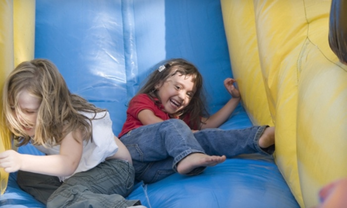 Pump It Up - Frisco: 8, 12, or 16 Jump Passes to Inflatable Indoor Playground at Pump It Up (Up to 55% Off)