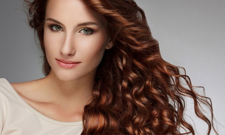 Deva Curly Haircut with Optional Partial Highlights or Color with Erin at Bella Salon & Day Spa (Up to 54% Off)
