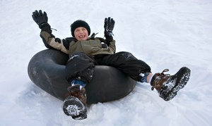 Beach Mountain: Snow Tubing and Hot Chocolate for One, Two, Four, or Six at Beach Mountain (Up to 37% Off)
