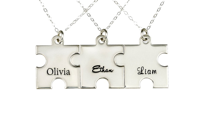 AJ's Collection: AJ's Collection Puzzle Necklace or Keychain