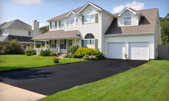 Black Lock Seal Coating & Pressure Washing - Knoxville: Seal Coating for a Two- or Three-Car Driveway from Black Lock Seal Coating & Pressure Washing (Up to 58% Off)