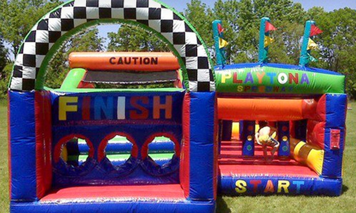 Xtreme Energy Inflatables - Greenville: One Bounce-House Rental or Party Package with Four Bounce-House Rentals from Xtreme Energy Inflatables (Half Off)