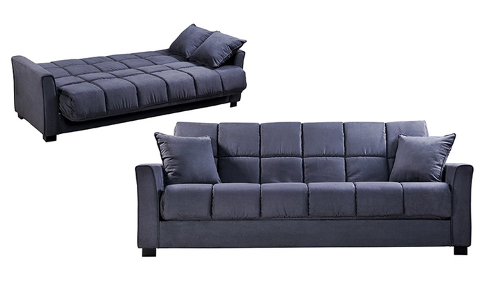 Elegant Handy Living Convert A Couches With Throw Pillows ...