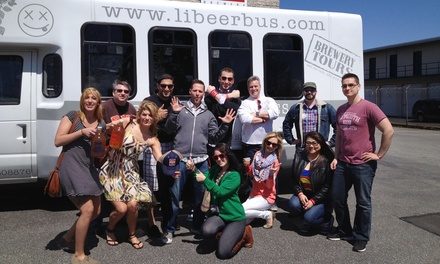 $199 for Prost! A German Beer Tour for Two from Long Island Beer Bus by Tapped Enterprises Inc. ($300 Value)