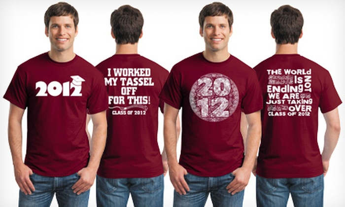 Central Screen Printing - Goose Island: One or Three Graduation T-Shirts from Central Screen Printing (Up to 58% Off)