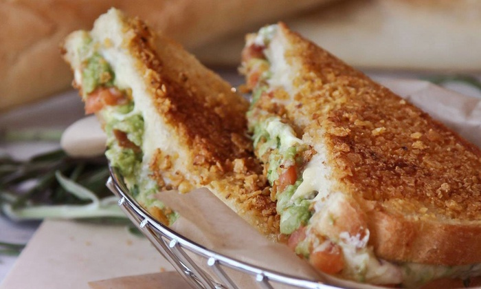 Melt Down Grilled Cheese - Radnor: 5 Grilled Cheese Sandwiches or $10 for 2 Groupons, Each Good for 1 Visit ($20 Value) at Wayne Melt Down Grilled Cheese