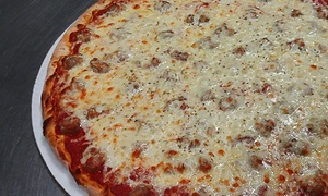 Nick's Pizza & Beef: Pizza, Sandwiches, and Italian Beef or Catering at Nick's Pizza & Beef (Up to 50% Off)