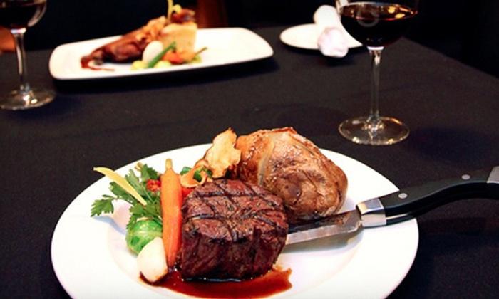 Quinn's Steakhouse and Irish Bar - St. Andrew - Windfields: $25 for $50 Worth of Steakhouse Cuisine at Quinn's Steakhouse and Irish Bar