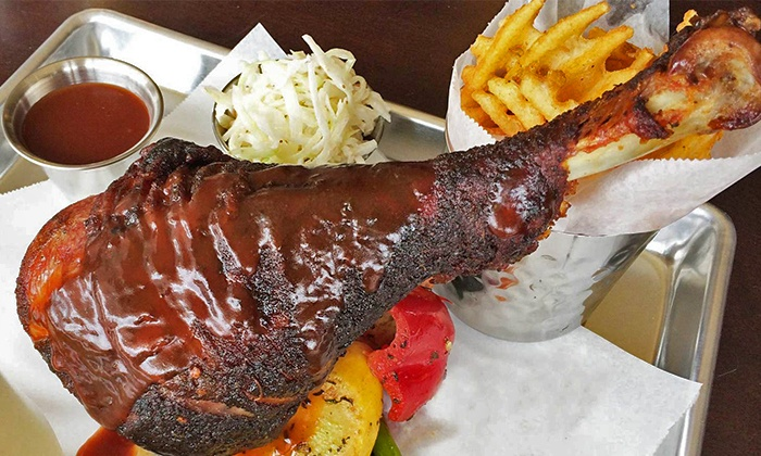 The Last Pit Stop Barbecue - Ravenswood: $30 Groupon for Two or More or $20 Groupon for Pick-Up at The Last Pit Stop Barbecue (Up to 47% Off)