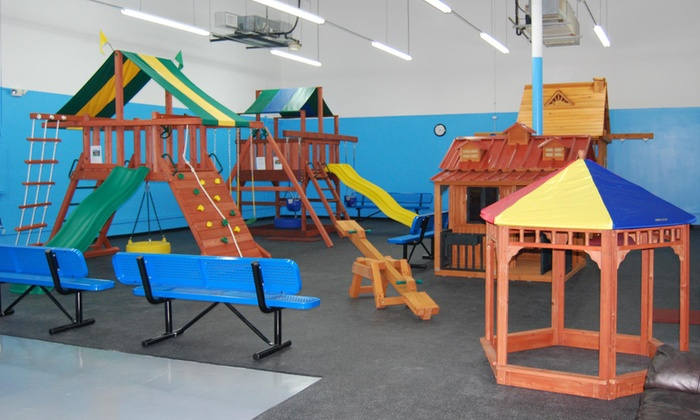 USA Play - USA Play: Four or Eight Indoor Playground Play Sessions at USA Play (Up to 45% Off)