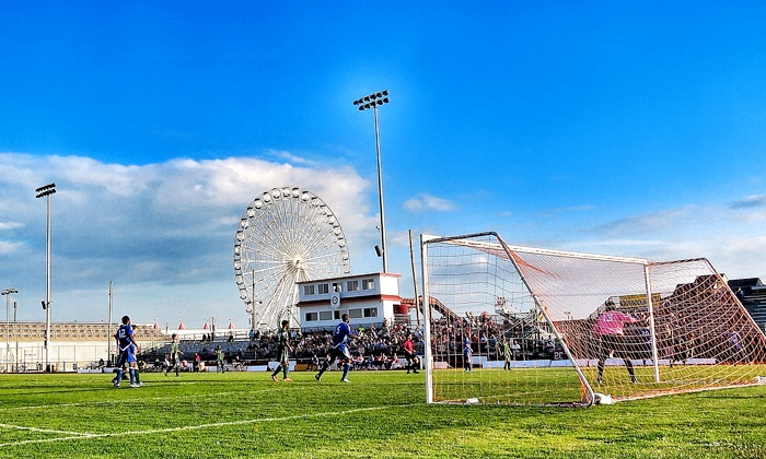 Ocean City Nor'easters - Ocean City : Ocean City Nor'easters Soccer Game for Two or Four at Carey Stadium (Up to 52% Off)
