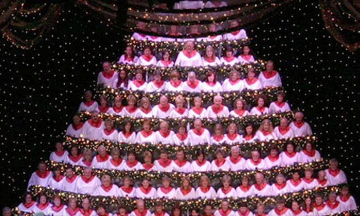 Singing Christmas Tree Portland.Singing Christmas Tree 2012 For Two At Pdx Keller Auditorium Half Off Eight Options Available