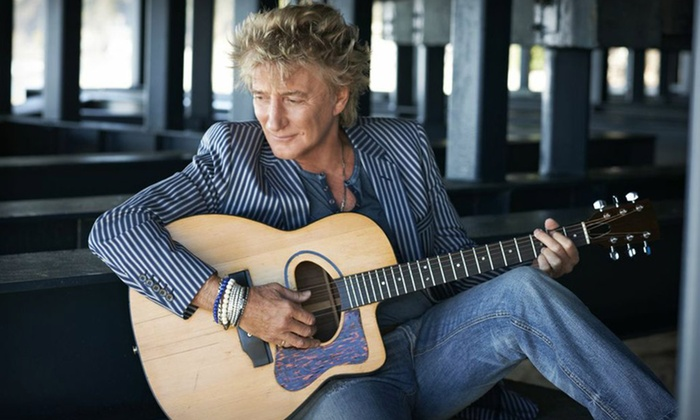 EPIC Trip for Two with Rod Stewart Meet n' Greet - The Strip: EPIC Rod Stewart Concert for Two in Las Vegas with Meet n' Greet, Roundtrip Airfare, and Two-Night Hotel Stay